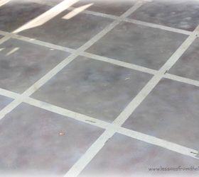 Comfortable 1930 Floor Tiles Thin 2 X 4 Ceiling Tiles Square 2 X 8 Subway Tile 4X2 Ceiling Tiles Youthful 6 X 24 Floor Tile Green6 X 6 White Ceramic Tile Faux Tile Painted Concrete Floor | Hometalk