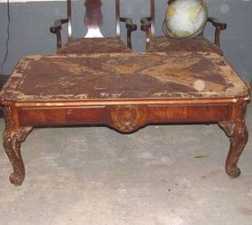 Delightful Old Coffee Table Turned Into A Bench, Chalk Paint, Painted Furniture,  Repurposing Upcycling