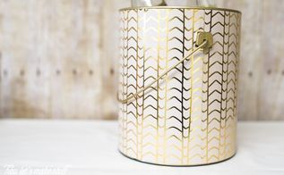 upcycle a paint can into an ice bucket or storage container, crafts, how to, repurposing upcycling, storage ideas
