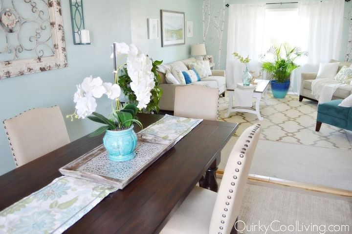 living room and dining room makeover on a budget, dining room ideas, living room ideas
