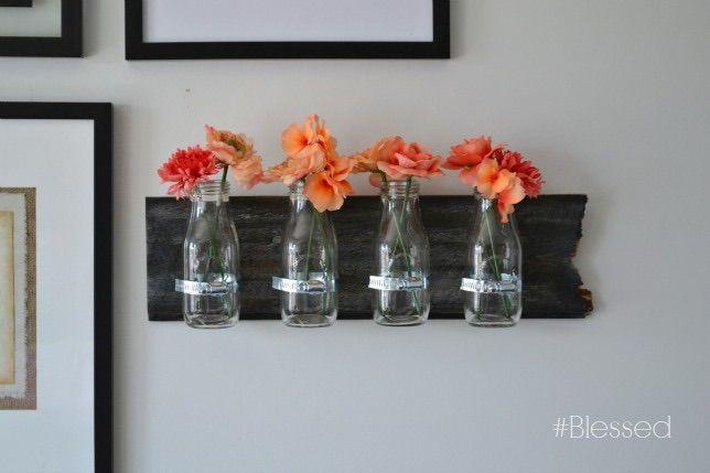 DIY Milk Jar Wall Decor | Hometalk