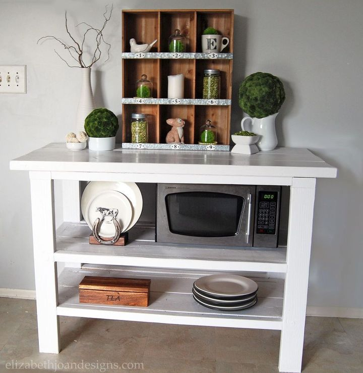 diy buffet table, diy, painted furniture, storage ideas, woodworking projects