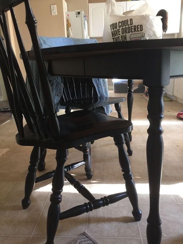 q indoor furniture turned outdoor furniture, outdoor furniture, painted furniture