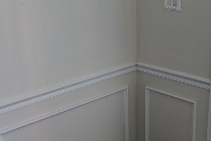 q matching a painted wall, home improvement, paint colors, painting