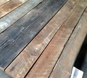 Rustic Wood Farmhouse Table Top From Reclaimed Lumber Buildit, Diy, How To,  Painted
