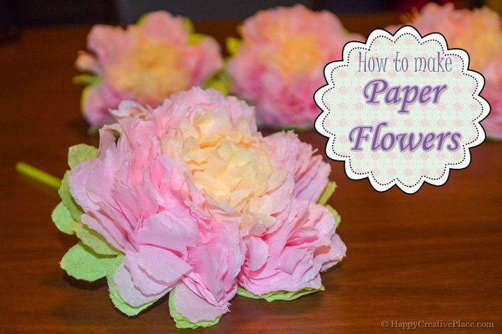 How to make paper flowers hometalk how to make paper flowers crafts flowers how to mightylinksfo