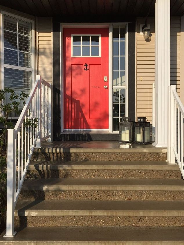 New Door With Anchor Installed