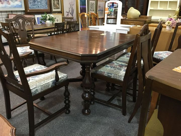 Dining Room Table Converted To Desk How Painted Furniture Repurposing Upcycling