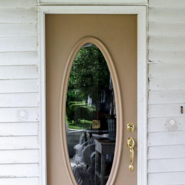 Exterior Door Trim Adds Curb Appeal   Hometalk
