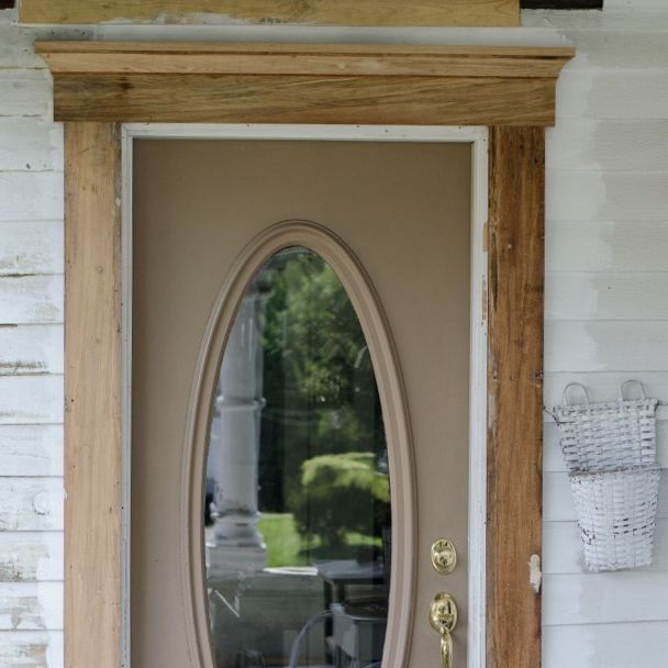 Exterior Door Trim Adds Curb Appeal Hometalk