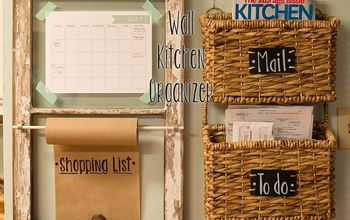 wall kitchen organizer, crafts, kitchen design, organizing, repurposing upcycling, Wall Kitchen Organizer by Fashionably Baked