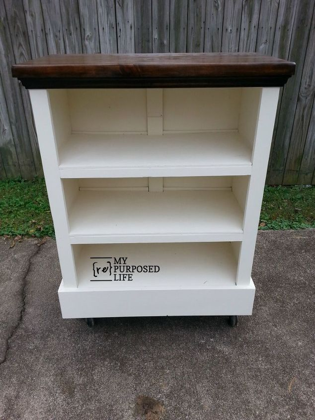 Best Repurposed Chest of Drawers to Bookshelf | Hometalk GE75