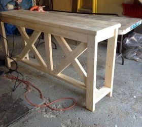 Exceptionnel Diy Rustic Console Table, Diy, Painted Furniture, Rustic Furniture,  Woodworking Projects