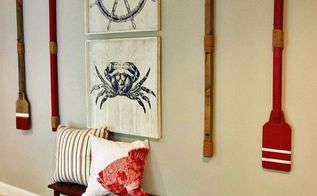 boys nautical themed bedroom, bedroom ideas, repurposing upcycling, wall decor