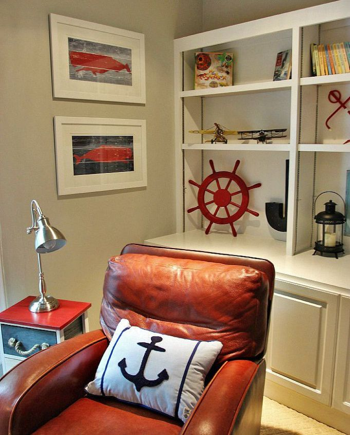 Boys' Nautical Themed Bedroom