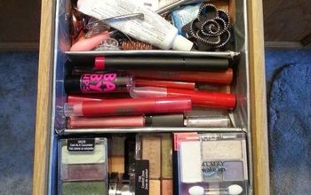 mcguyver a drawer organizer from an amazon box, organizing, repurposing upcycling