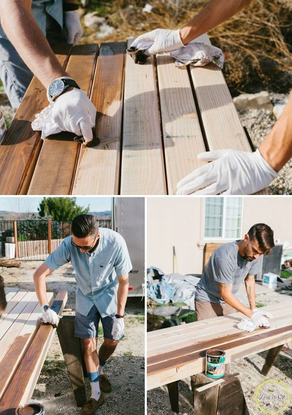 cinder block bench for your backyard, diy, outdoor furniture, outdoor living, woodworking projects