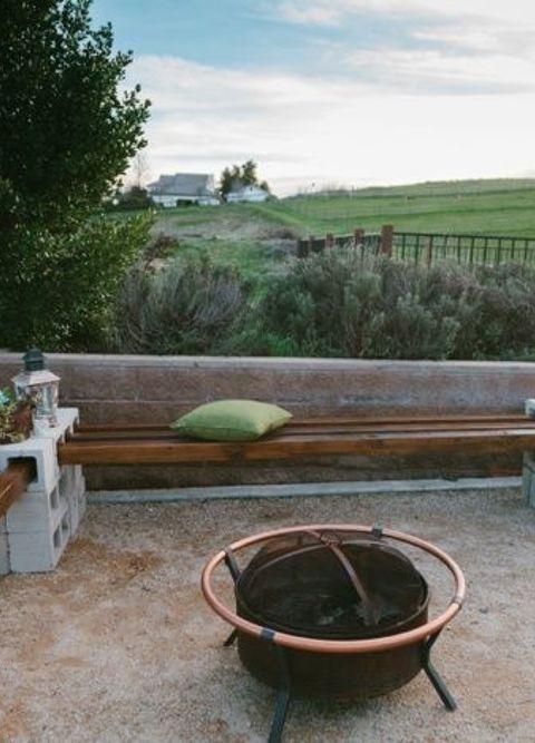 Diy Cinder Block Outdoor Furniture On Cinder Block Bench For Your Backyard Diy Outdoor Furniture Living Woodworking Bench For Your Backyard Hometalk