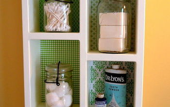 diy cottage wall shadow box shelving, bathroom ideas, diy, shelving ideas, small bathroom ideas, storage ideas, woodworking projects