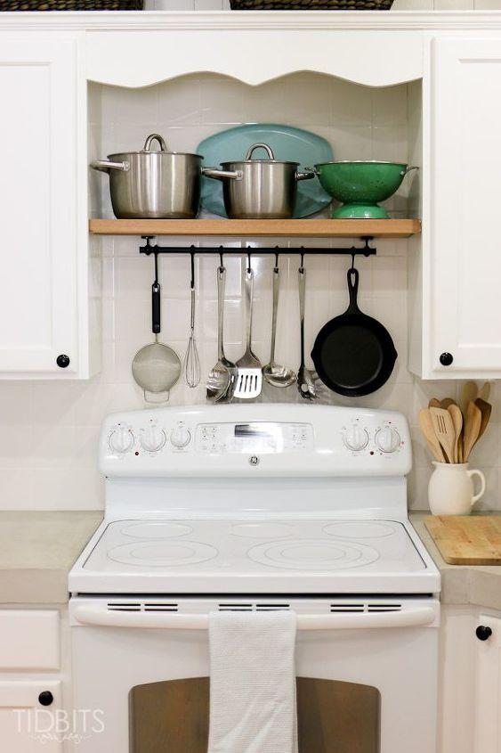 cottage fresh kitchen remodel, home improvement, kitchen design, shelving ideas