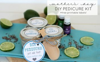 Homemade Pedicure Kit ... For Mother's Day!