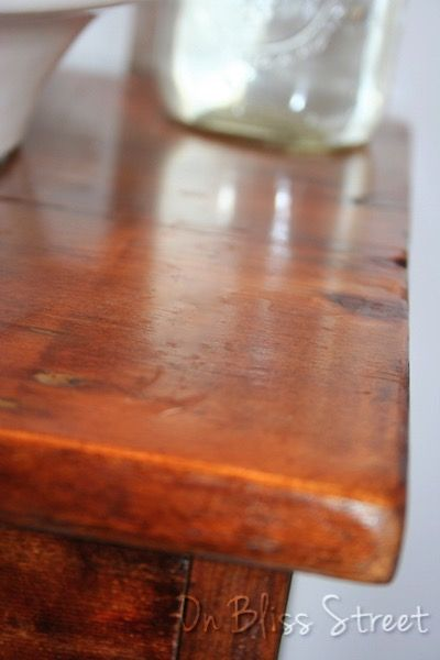 how to make a vanity from a single board, bathroom ideas, diy, how to, repurposing upcycling, woodworking projects