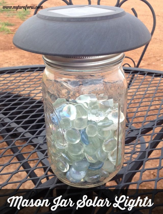 mason jar solar lights, how to, lighting, mason jars, outdoor living, repurposing upcycling