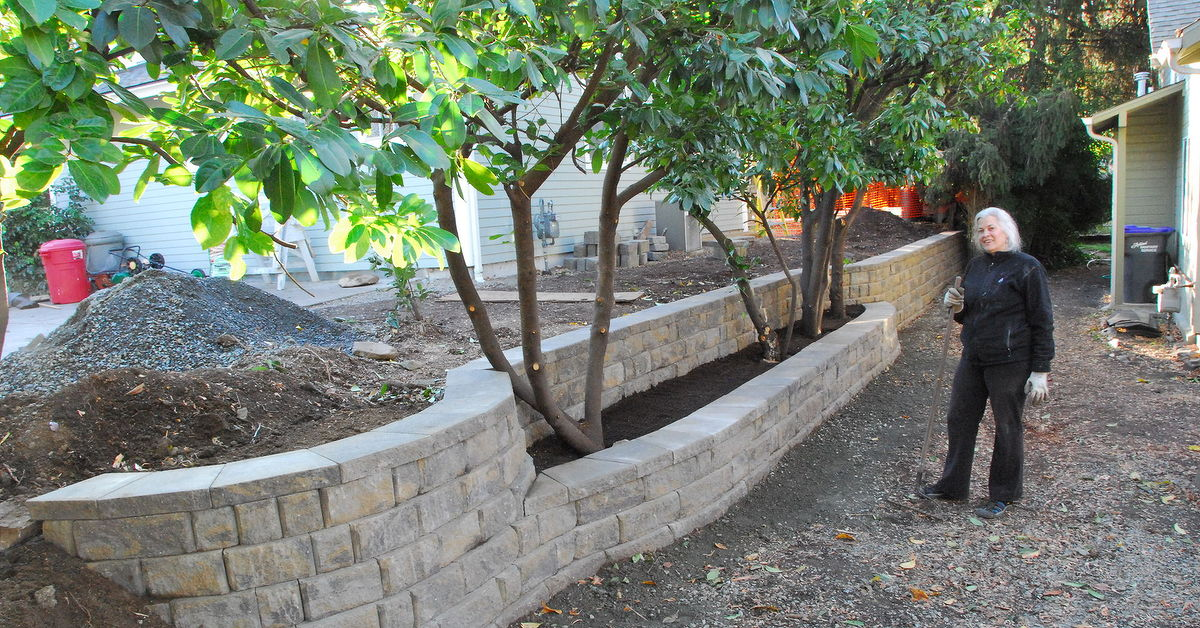 Retaining Wall On Property Line Hometalk