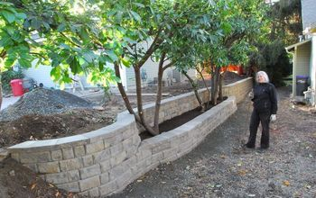 Retaining Wall on Property Line