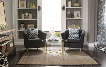 Combined Living + Dining Room Makeover