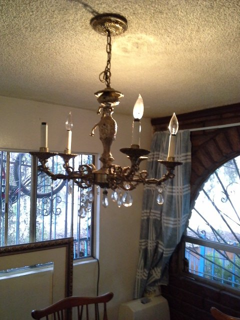 Can anyone give me ideas for my old chandelier hometalk q ideas for upcycling an old chandelier lighting repurposing upcycling old chandelier aloadofball Gallery