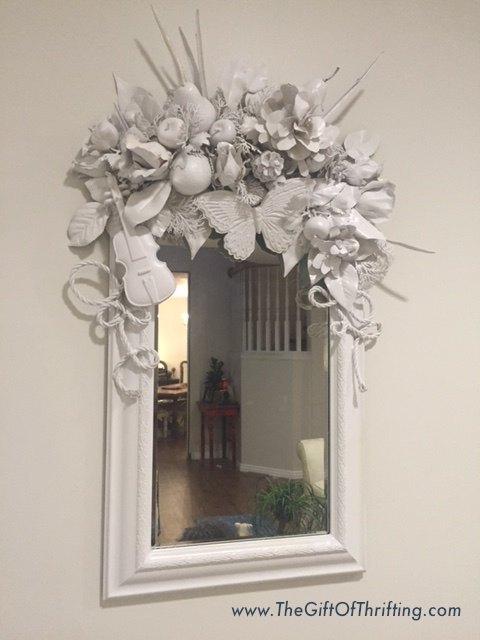 White Diy Mirror Artist Inspired Hometalk