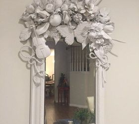 White Diy Mirror Artist Inspired, Crafts, Painted Furniture, Wall Decor, My  White