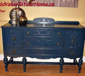Beautiful Blue Painted Buffet, Painted Furniture ...
