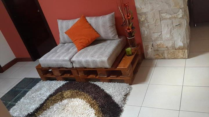 reclaimed pallet sofa tutorial, how to, pallet