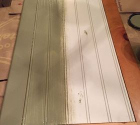 Chalk Painted Knotty Pine Cabinets Hometalk