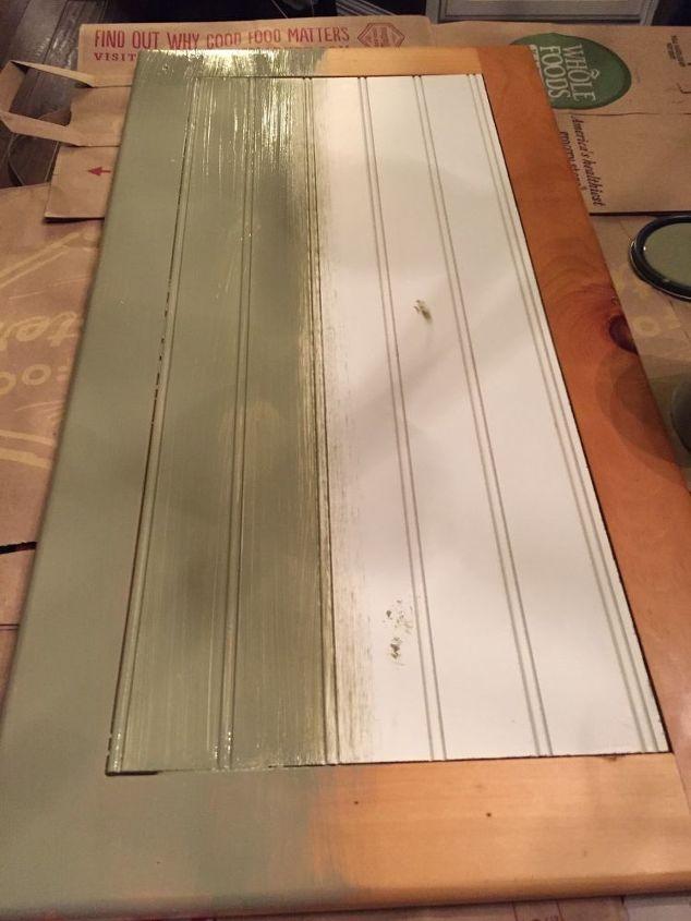 chalk painted knotty pine cabinets, chalk paint, kitchen cabinets, kitchen design, painting