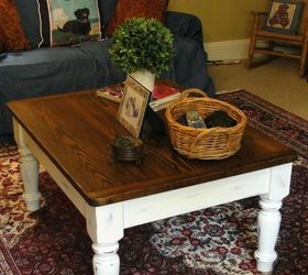 Charmant Farmhouse Coffee Table Makeover, Chalk Paint, Painted Furniture, Rustic  Furniture