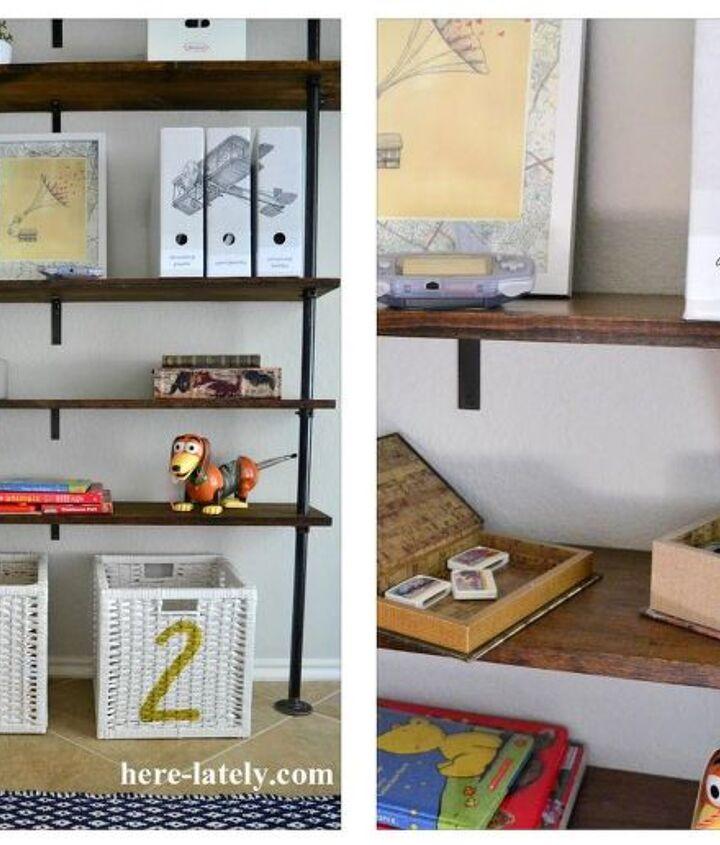 family room makeover, entertainment rec rooms, living room ideas, shelving ideas, wall decor