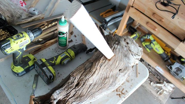 how to turn scrap wood into a home decor sculpture, home decor, how to, repurposing upcycling, woodworking projects