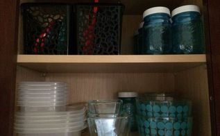 organizing food storage containers, closet, organizing, storage ideas