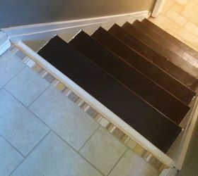 Elegant Split Foyer Staircase Gets A Makeover, Foyer, Stairs