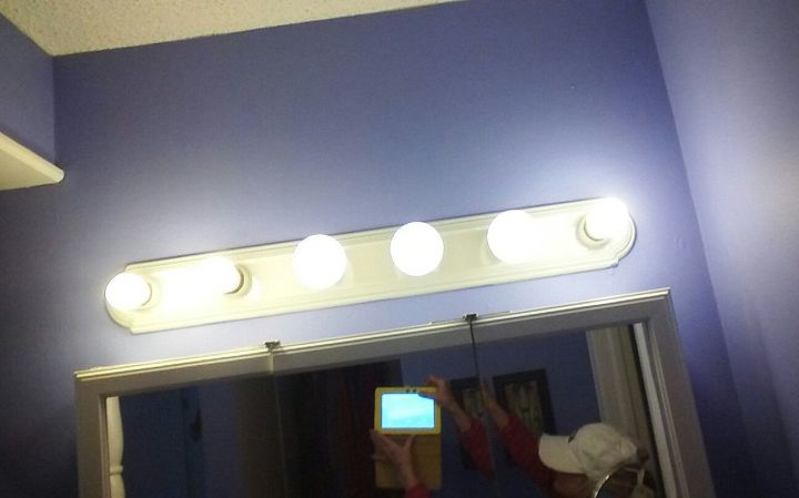 How To Update A Six Bulb Vanity Light Hometalk