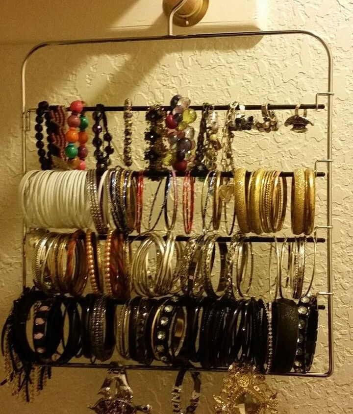 old pant hanger to jewlery organizer, organizing, repurposing upcycling