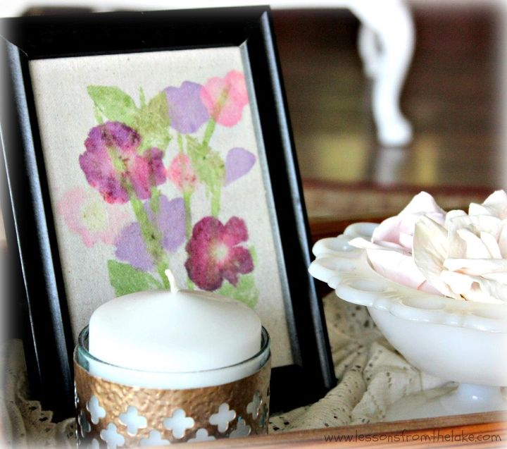 flower pounding craft idea, crafts, flowers, gardening, how to