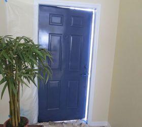 navy front foyer door doors foyer painting & Navy Front/Foyer Door | Hometalk