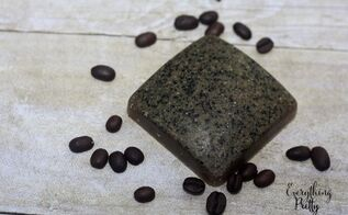 repurposed coffee grounds to gardener s soap, crafts, how to, repurposing upcycling