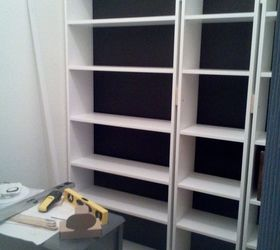 Closet Turned Library Coffee Bar, Painted Furniture, Repurposing Upcycling