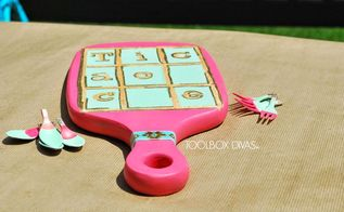 upcycled tic tac toe, crafts, how to, repurposing upcycling