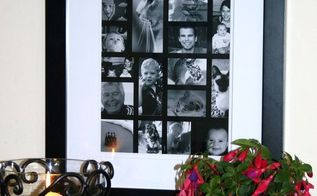 diy photo collage, crafts, how to, wall decor
